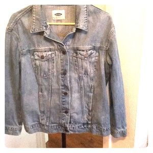Boyfriend style denim jacket!
